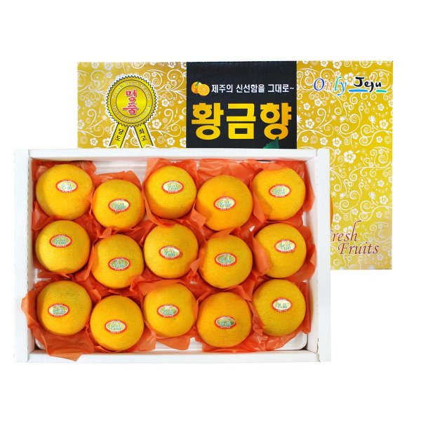 (자연두레) GAP인증 당도선별 황금향 선물세트 3kg (12~15과) 상품이미지