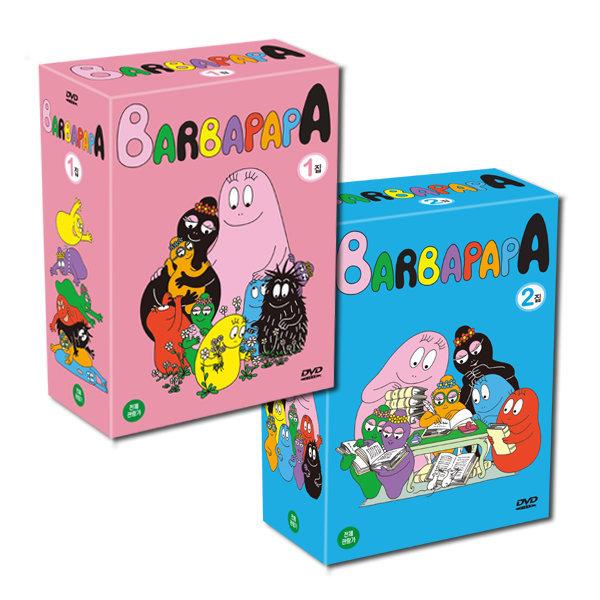 DVD 바바파파 Barbapapa 1+2집 40종세트 사은품증정 사은품 증정 상품이미지