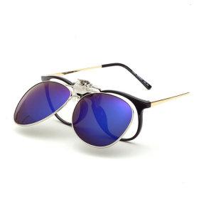 클립형 편광 미러선글라스 썬글라스 PVC-3006 안경