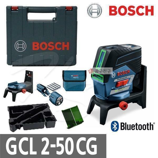 보쉬 GCL2-50CG 그린레이저 레벨기 블루투스 회전가능 상품이미지