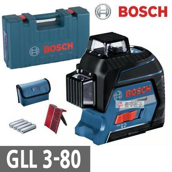 신제품 보쉬 GLL3-80 라인레이저 레벨기 수직 수평 상품이미지