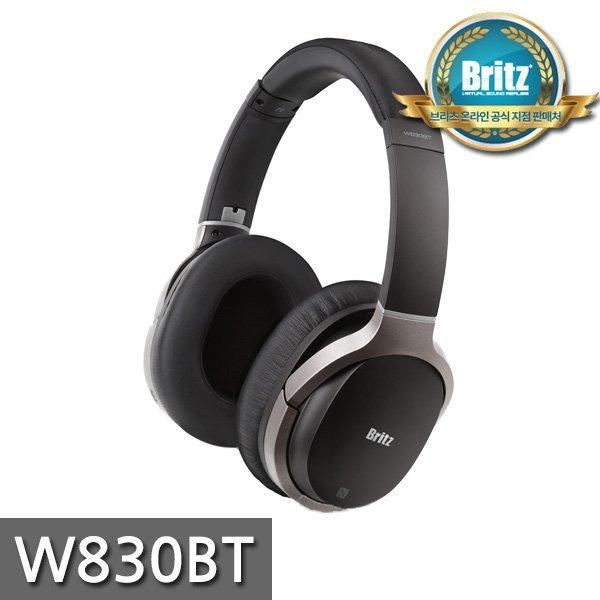 브리츠 공식대리점  W830BT   프리미엄 블루투스 유무선 헤드폰 / 고해상 음악감상 / 인체공학적 설... 상품이미지