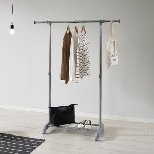 [왕자행거]왕자뉴이동식조절선반행거(327)옷걸이 공간활용만점