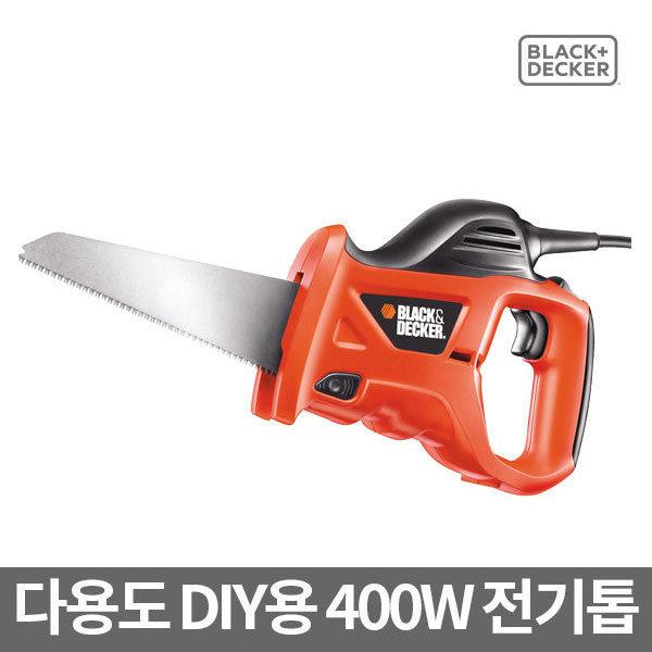 블랙앤데커 전기톱 KS880EC 금속/목공/절단공구/400W 상품이미지