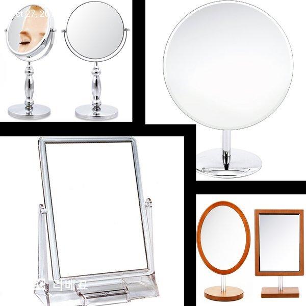 투명사각 커다란 탁상거울/화장대 확대거울 개업선물 상품이미지