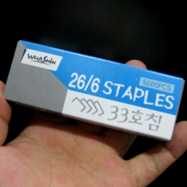 B082/33호침/5 000개/스테플러침/호치키스알 상품이미지