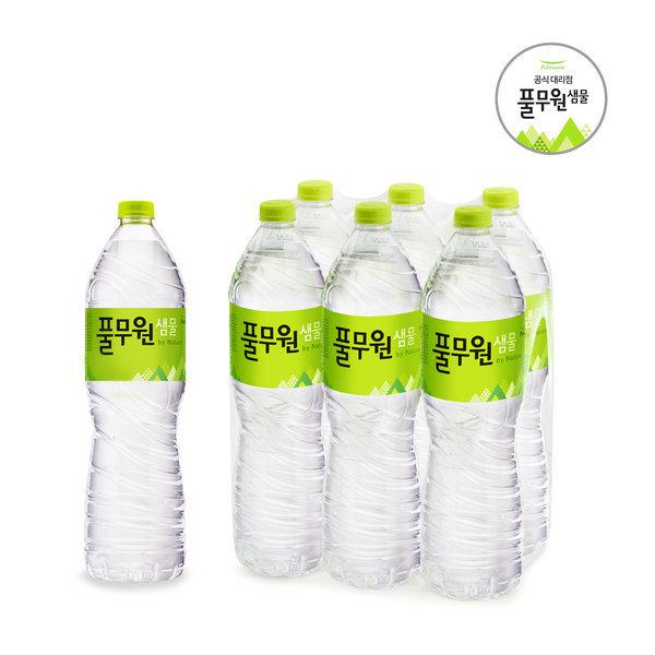 풀무원샘물 2Lx12/생수/대용량생수/먹는샘물/물 상품이미지
