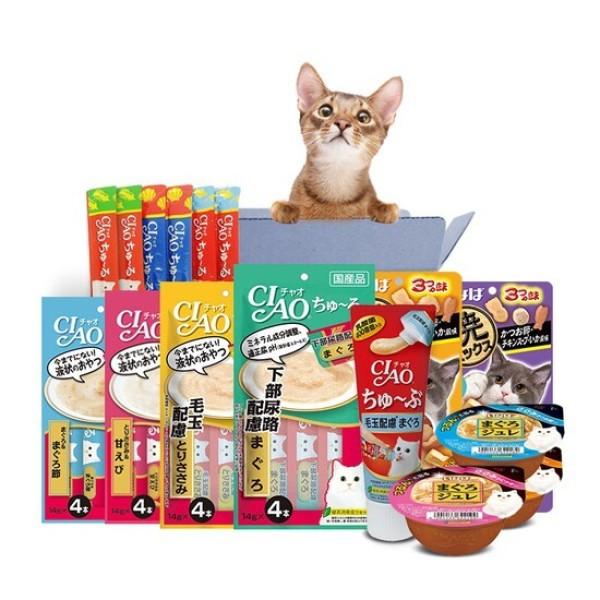 CJmall 고양이간식 이나바츄르 대용량 15봉세트 상품이미지