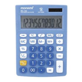 모나미 계산기 MC-102 블루