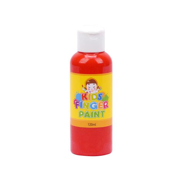 키즈 핑거페인트 120ml 낱색/유아물감/물감 상품이미지