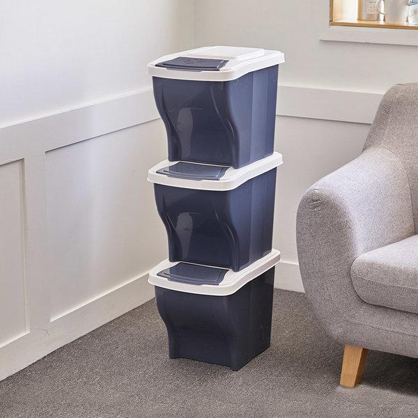 가정용 분리수거함 쓰레기통 3단 재활용 상품이미지
