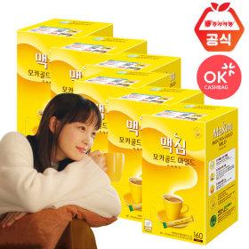 모카골드 160T X6개 1박스/무료배송/커피/커피믹스