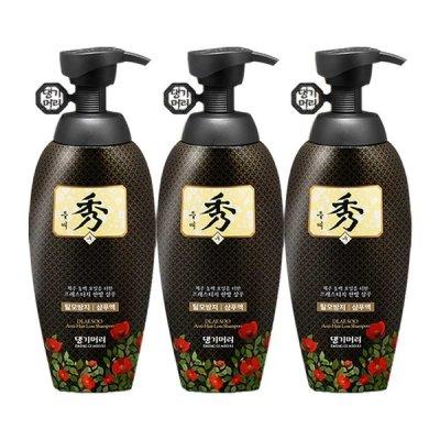 Daeng Gi Meo Ri DLAESOO anti hair loss Shampoo 400ml x 3ea