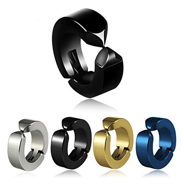 티타늄 귀찌 이어커프 클립형 남자 여자 학생 귀걸이 상품이미지