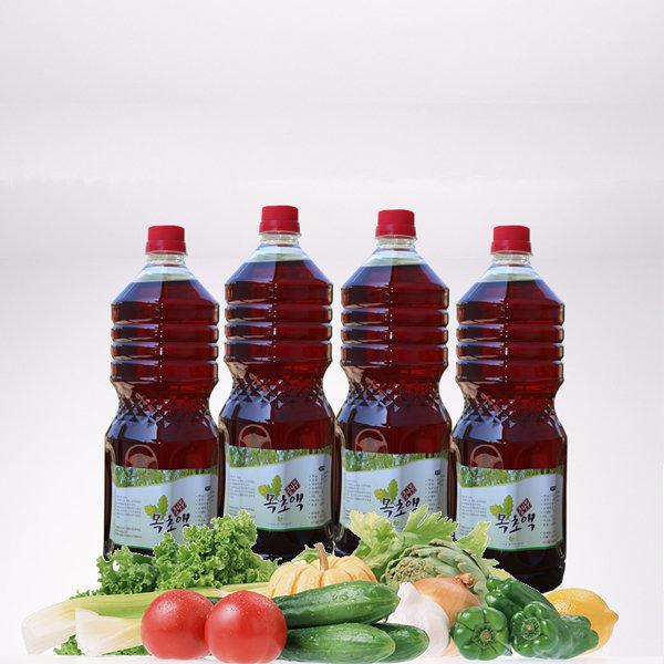 목초원액 1800ml 4병 참나무 목초액 정제목초액 상품이미지