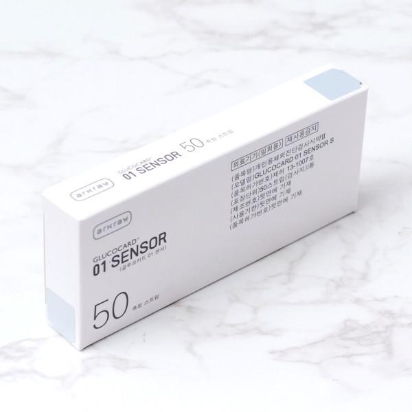아크레이 글루코카드 01 센서 스트립 50매(1박스) 상품이미지