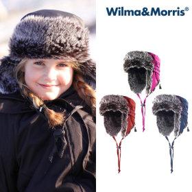 윌마앤모리스 스코텔 윈터햇 겨울모자 아동모자 털모자