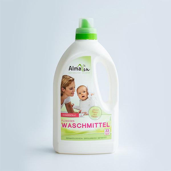 AlmaWin/알마윈 독일 유기농 액상 세탁세제 1.5L 상품이미지