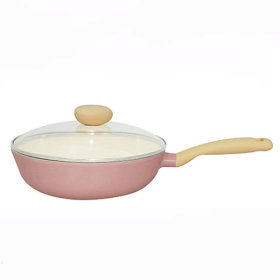 Retro cookware collection /Wok pan 26cm + glass Lid