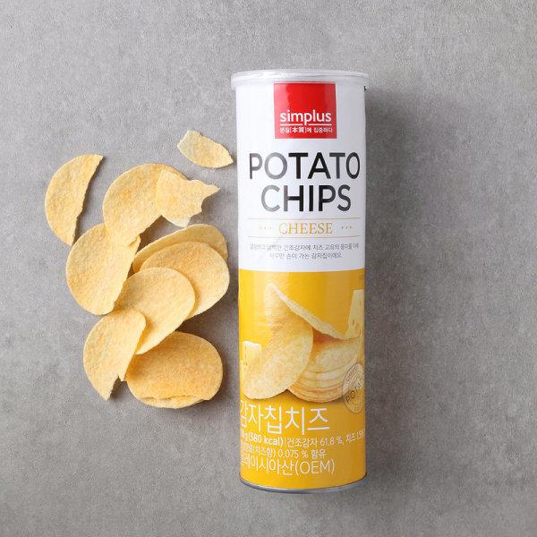 (10+1)simplus 감자칩 치즈 110G 상품이미지