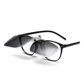 클립형 편광 미러선글라스 안경용썬글라스 PVC-3007