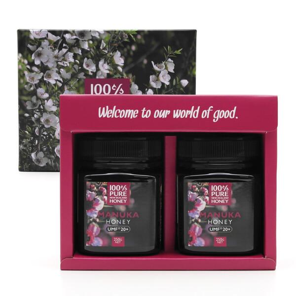 허니코  100%PureNZ UMF20+ 마누카 허니 세트 (250g x 2개) 상품이미지