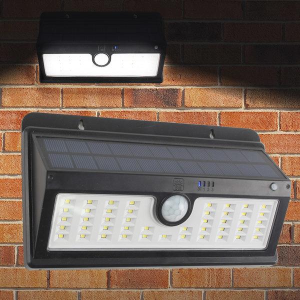 태양광 45구 감지 벽부등 동작감지 LED 센서등 정원등 상품이미지