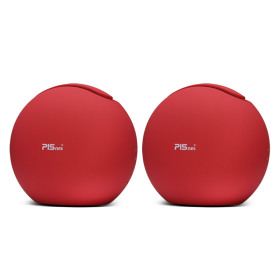 Mini Air Purifier PISnet Air True HEPA Filter LED Red