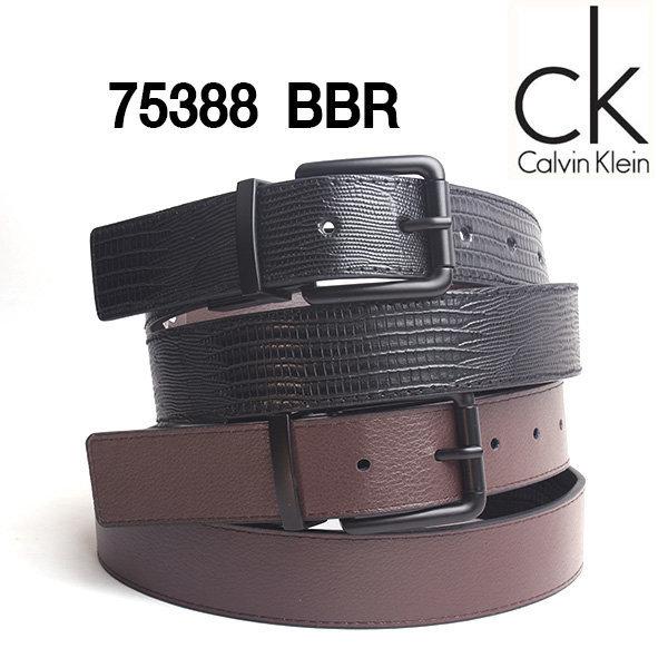 직수입 캘빈클라인 양면벨트 75388 BBR (블랙/브라운) 상품이미지