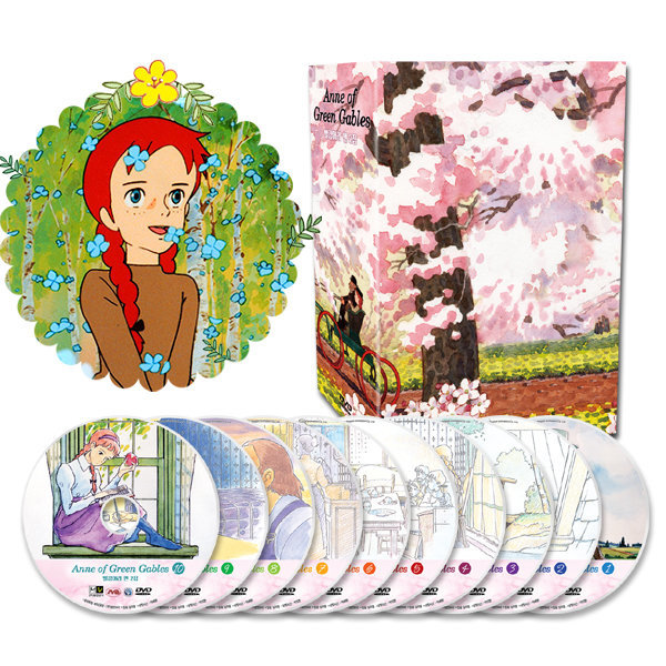 DVD  빨강머리 앤 2집 10종세트 유아영어DVD 사은품증정 상품이미지