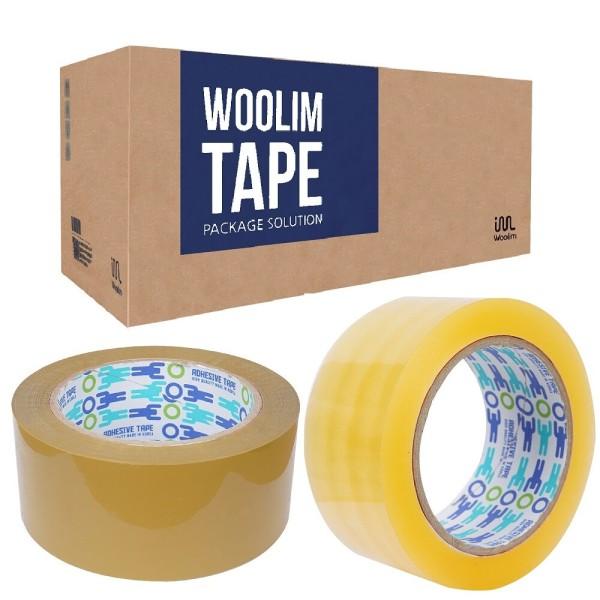 박스테이프50개80MOPP /더블경포장투명40개 초특가 상품이미지