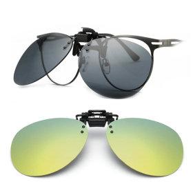 클립형 편광 미러선글라스 안경용썬글라스 PVC-3004