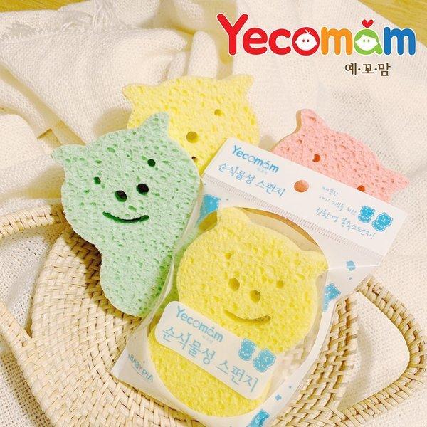예꼬맘  이지샤워 목욕스펀지 순식물성 어린이스펀지 상품이미지