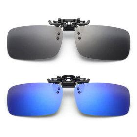 클립형 미러선글라스 안경용 클립썬글라스 PVC-3002