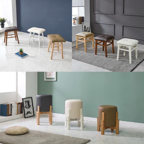 홈바/홈바의자/원목의자/식탁의자/보조의자/스툴 상품이미지