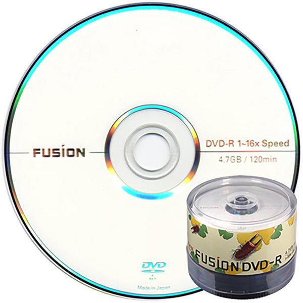 퓨전 DVD-R 16배속 4.7GB 공DVD (케이크50장) 상품이미지