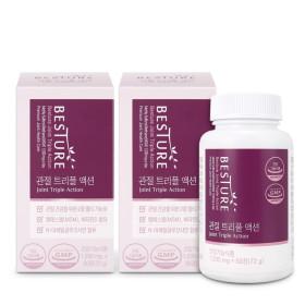 관절 트리플액션 (MSM+글루코사민+비타민D) 60정x2박스