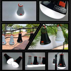 LED 캠핑랜턴 후레쉬 손전등 용품 / 마렉스 멀티랜턴