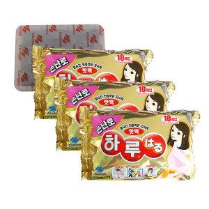 일본정품   하루핫팩손난로 10p x 3개 하루온팩/핫팩