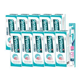 시스테마 치약 아이스민트 알파 100g 10개