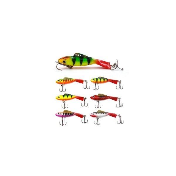 지느러미웜 산천어 얼음낚시 전용웜 송어 하드베이트 상품이미지