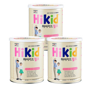 Hikid Milk 600g x 3 cans
