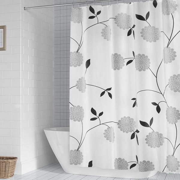 수국 샤워커튼 CN 화장실 욕실 방수 호텔 커튼 상품이미지