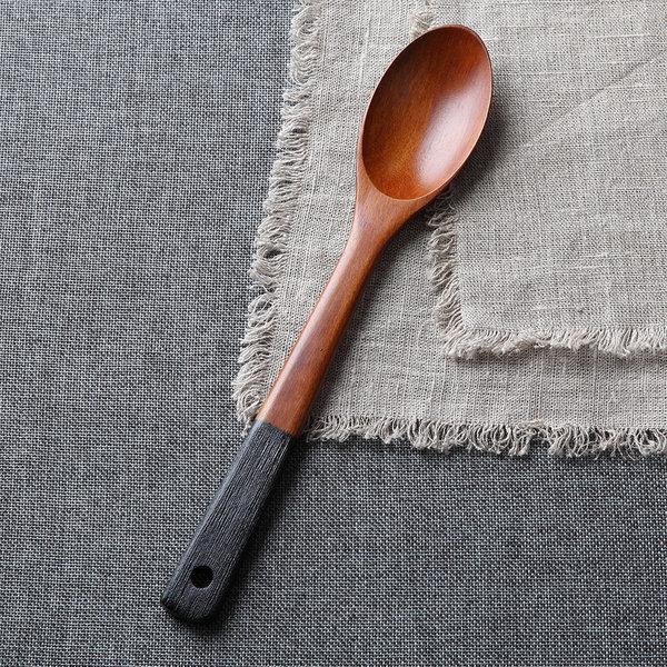 대추나무 천연 고급 옻칠 볶음 스푼(엔틱) 상품이미지
