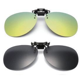 클립형 미러선글라스 안경용 클립썬글라스 PVC-3001