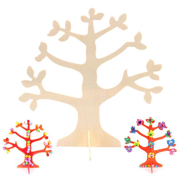 꾸미기나무/만들기재료/미술재료/나무만들기/나무공예 상품이미지