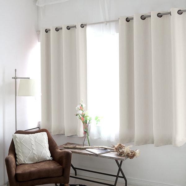 암막커튼 작은창 아일렛/커텐 거실 창문 아이방 방한 상품이미지