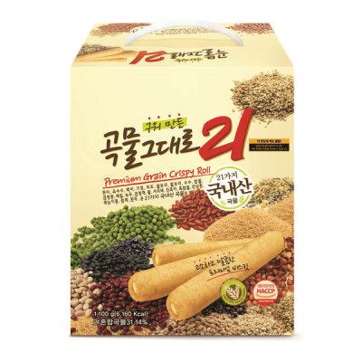 Gift Set Premium Grain Crispy Roll 21 1100g Crispy Roll Snack