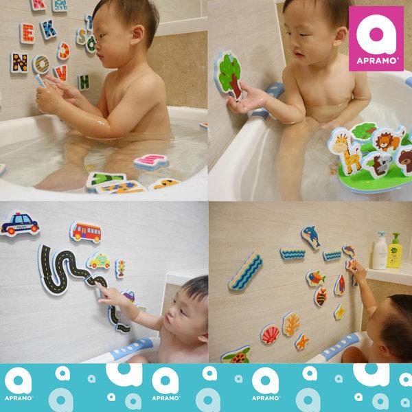 (정품) 아프라모 목욕놀이 스티커/목욕완구/물놀이 상품이미지