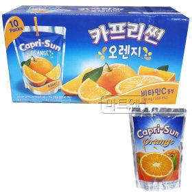 농심 카프리썬 오렌지 200ml X 10팩 어린이음료